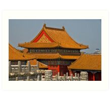 Beijing: Inside the Forbidden City Art Print