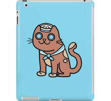 Sid the Sailor Cat iPad Case/Skin