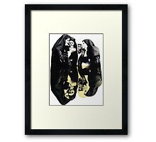 Sister act Framed Print