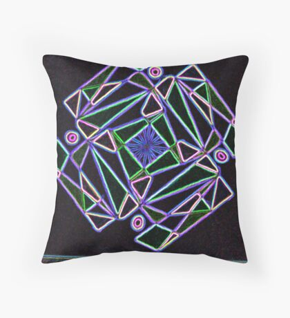 Syrian rue Throw Pillow