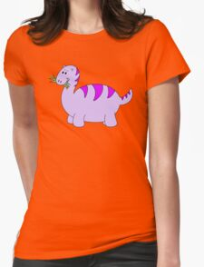 Cute Purple Cartoon Dinosaur T-Shirt