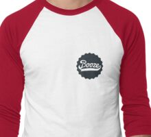 Booze Men's Baseball ¾ T-Shirt