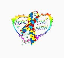 Hope Love Faith Unisex T-Shirt