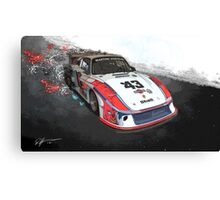 Porsche 935 Moby Dick Canvas Print