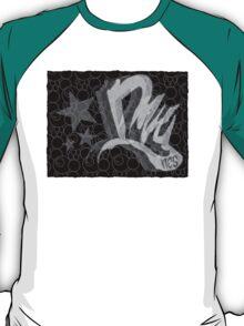 Dreamer Pattern BnW T-Shirt