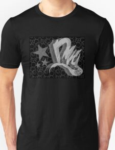 Dreamer Pattern BnW Unisex T-Shirt
