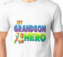 My Grandson Is My Hero Unisex T-Shirt