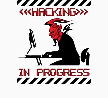 Devil Hacking in Progress Unisex T-Shirt