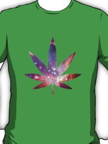 Cosmic Pot Leaf T-Shirt