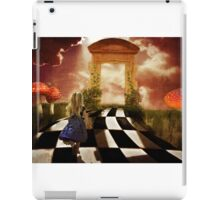 Alice in a Hurry iPad Case/Skin