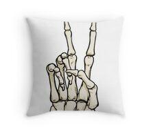 Dead Peace  Throw Pillow