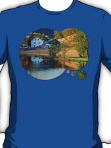 A summer evening along the river II | waterscape photography T-Shirt
