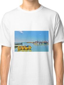 essaouira harbour Classic T-Shirt