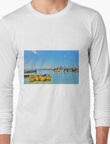 essaouira harbour Long Sleeve T-Shirt