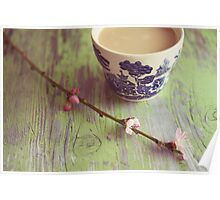 blossoms and tea II Poster