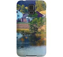 A summer evening along the river II | waterscape photography Samsung Galaxy Case/Skin
