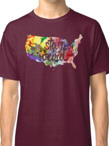 Stay Weird America Classic T-Shirt