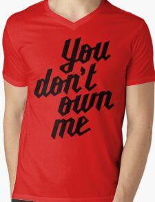 You Don't Own Me Mens V-Neck T-Shirt