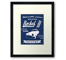 Rocket 88 Clutch Framed Print