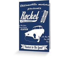 Rocket 88 Clutch Greeting Card