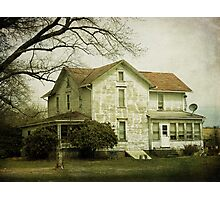 Beautiful old farm house Photographic Print