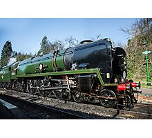 Clan Line Steam engine  Photographic Print