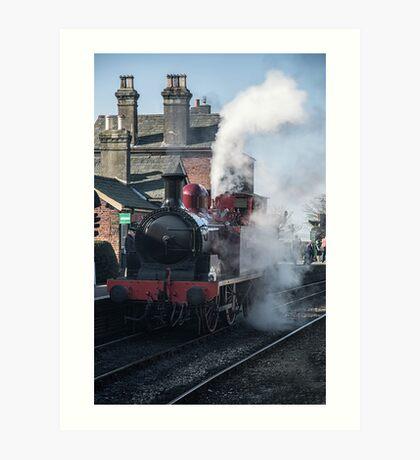 Metropolitan Steam Engine Art Print