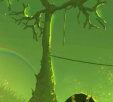Ominous Tree - Painting Sticker