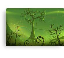 Ominous Tree - Painting Canvas Print