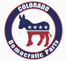 Colorado Democratic Party Original Kids Tee