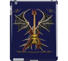 Dark Angel Death Guitar iPad Case/Skin