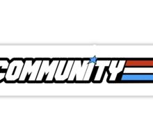Community G.I Joe Sticker