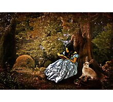 Outside the Rabbit Hole Photographic Print
