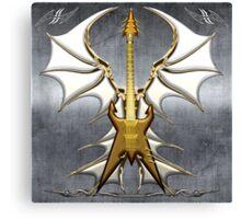 Dark Angel Heavy Guitar Canvas Print