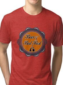 Beer and Bed Rest Tri-blend T-Shirt