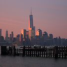 lower Manhattan At Sunrise by pmarella