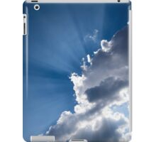 Blue Sky and Sunbeams iPad Case/Skin