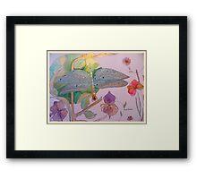 CORN COLOURED MEADOWSWEET Framed Print
