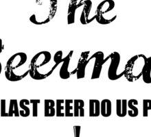 The Beerman Sticker
