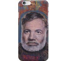 Portrait of Ernest Hemingway iPhone Case/Skin