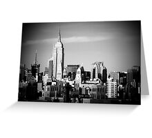 Empire State Building NYC Greeting Card