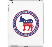 Democratic Party Wins iPad Case/Skin