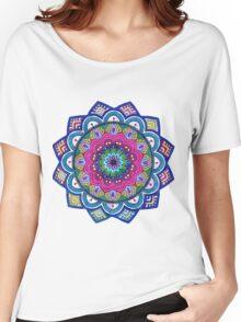 Mandala Rainbow Women's Relaxed Fit T-Shirt