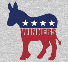 Vote Winners Democrat Kids Tee