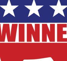 Vote Winners Democrat Sticker