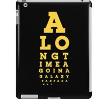 Galaxy wars from the far away star  iPad Case/Skin