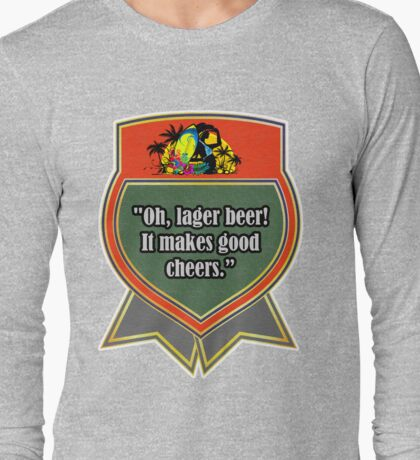 Lager Beer Long Sleeve T-Shirt