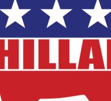 Vote Hillary Democrat Sticker