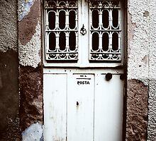 old door in cunda by gzmguvenc89