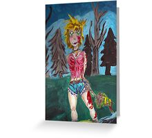 Zombie Killer  Greeting Card